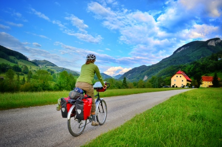 bike touring; cycling; cycle touring; bike camping; steiermark austria; two wheel travel