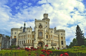 castle-hluboka-nad-vltavou-copy 7 surprising things about bicycle touring Eastern Europe