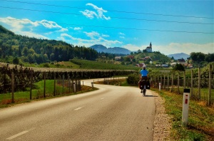 Cycling; Wine Country; Slovenia; Two Wheel travel; Bike Touring
