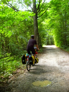 Czech Cycle Route 12 - Cesky Krumlov; Vienna-prague greenways; bike touring; cycling