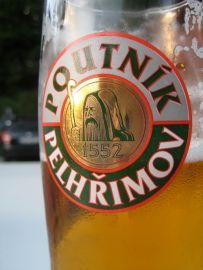 Poutnik Pelhrimov; pivo; beer; czech republic; bike travel; bike touring; cycling