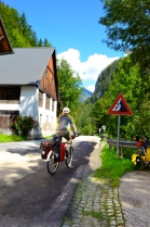 bicycle touring to wildalpen austria; cycling the salzatalradweg