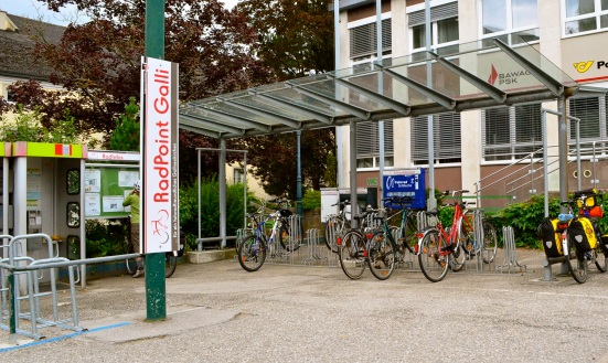 radpoint in gallneukirchen austria; bicycle tourism resources; R28 bik route