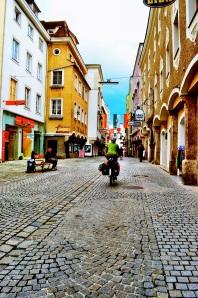 Steyr, Austria; Ennsradweg; r7 bike route; bicycle travel in Austria