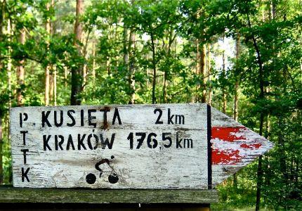 Biking to Krakow; Cycle touring Poland