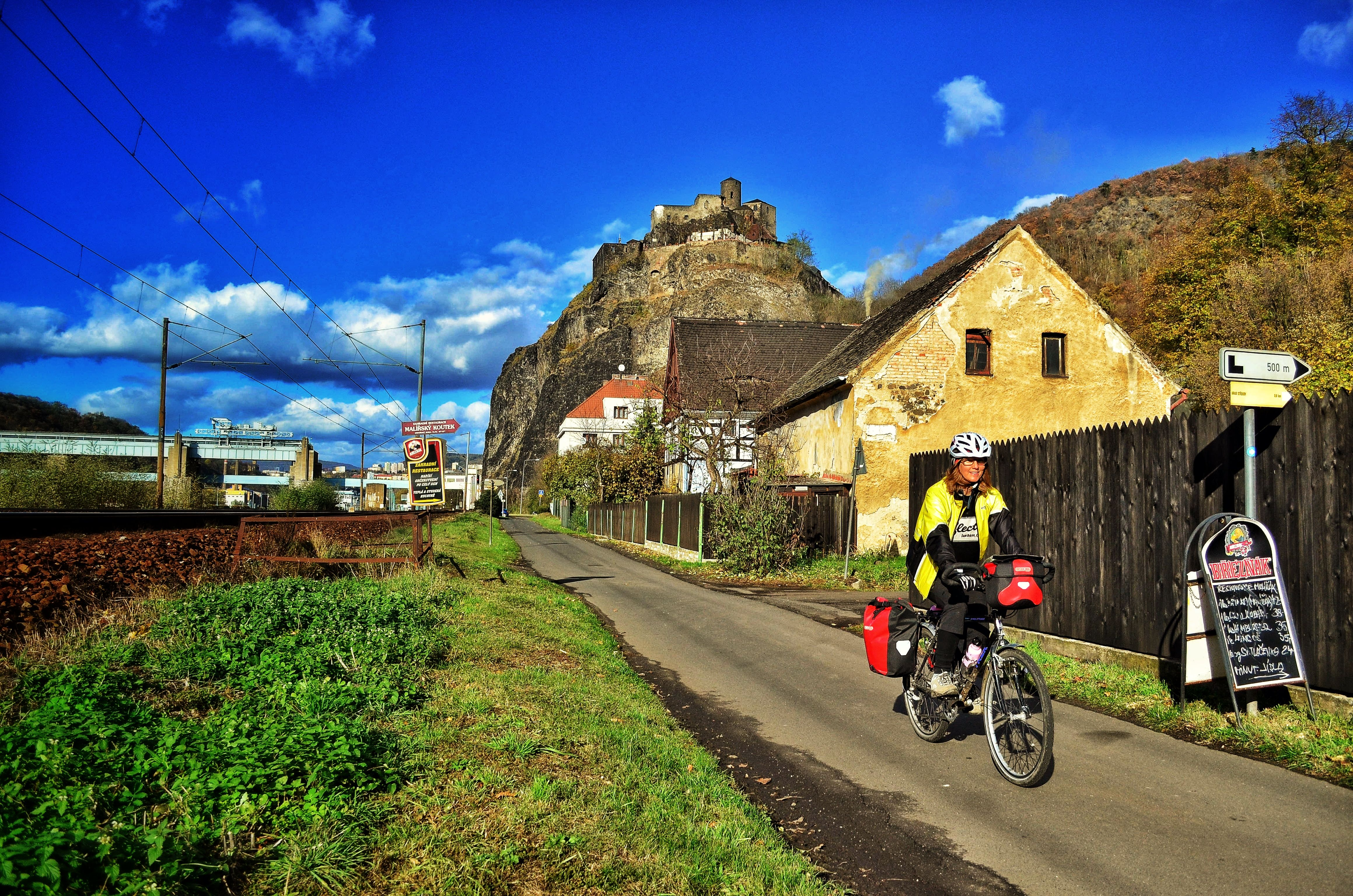 elberadweg; bike touring; multi-modal bicycle travel; czech republic cycling