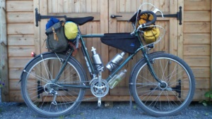 minimal bikepacking; bicycle travel; gypsy by trade; two wheel travel