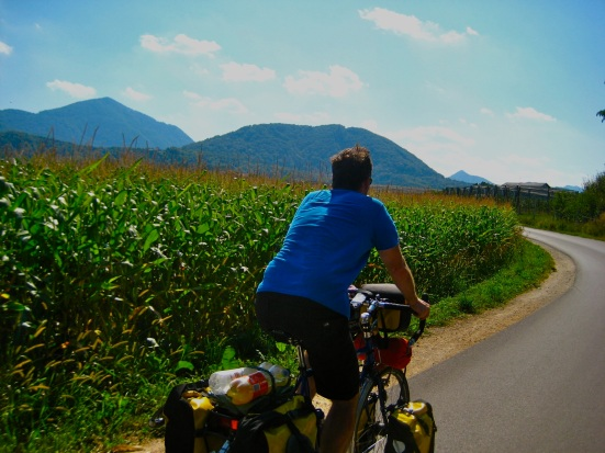 bicycle travel in Slovenia; two wheel travel