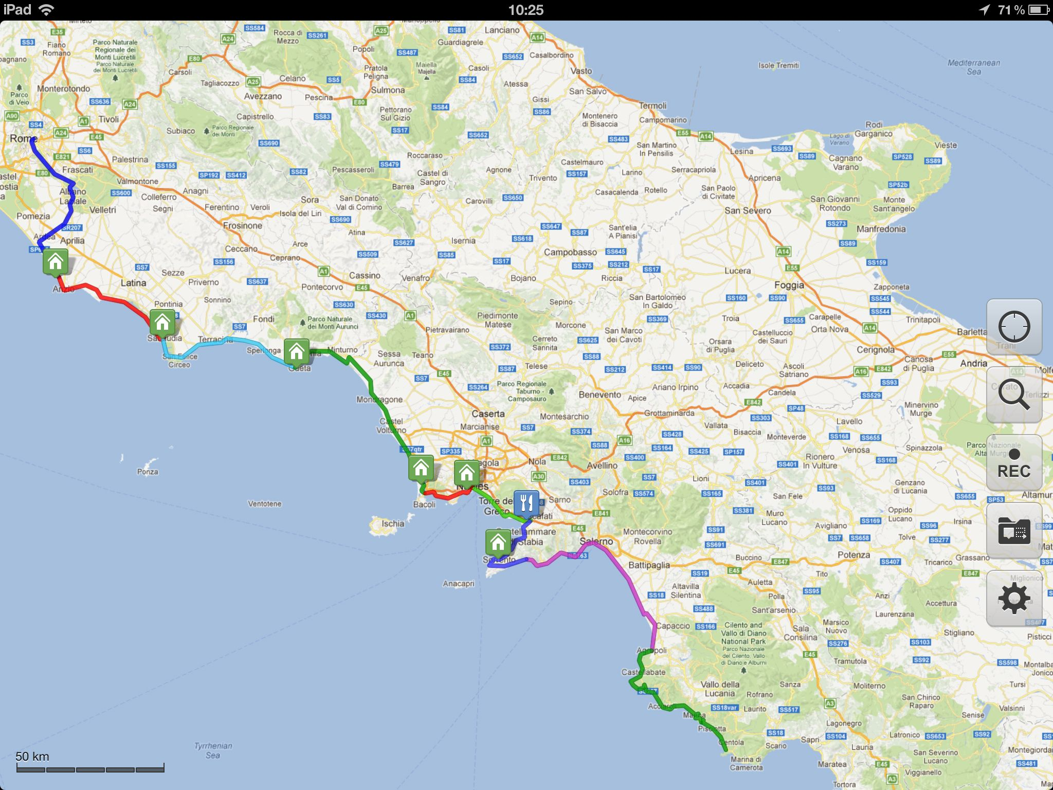 Gear review galileo offline maps galileo offline maps app for bicycle touring gumiabroncs Images